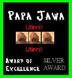 Papa Jawa Silver Award